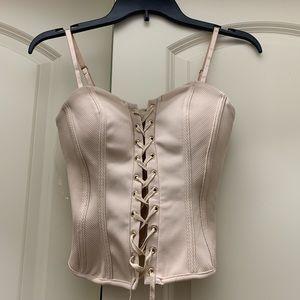Sexy corset top